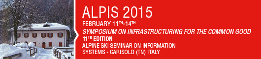 Symposium on infrastructuring for the common good - Alpine Ski Seminar on Information Systems 11t  edition