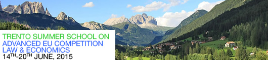 Trento Summer School on Advanced EU Competition Law and Economics