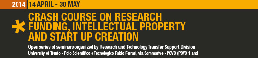 2014 Crash Course on Research Funding, Intellectual Property and Start up Creation