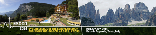 ESGCO 2014 – 8th Conference of the European Study Group on Cardiovascular oscillations