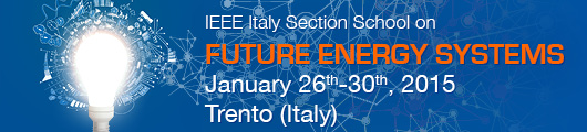 IEEE Italy Section School on Future Energy Systems