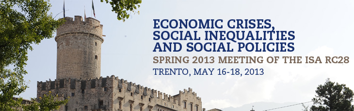 Economic crises, social inequalities and social policies