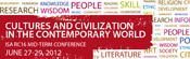 Cultures and civilization in the contemporary world