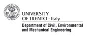University of Trento, Department of Civil, Enviromental and Mechanical Engineering