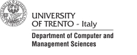 Department of Computer and Management Sciences, University of Trento