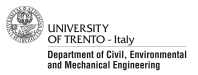 Department of Civil, Environmental and Mechanical Engineering - University of Trento
