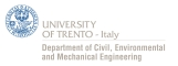University of Trento - Department of Civil, environmental and mechanical engineering
