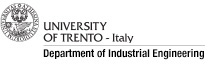 Department of Industrial Engineering