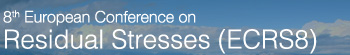 8th European Conference on Residual Stress (ECRS8)
