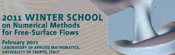 2011 Winter School on Numerical Methods for Free-Surface Flows February 2011