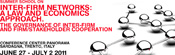 Inter-firm networks: a law and economics approach