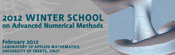 2012 Winter School on Advanced Numerical Methods